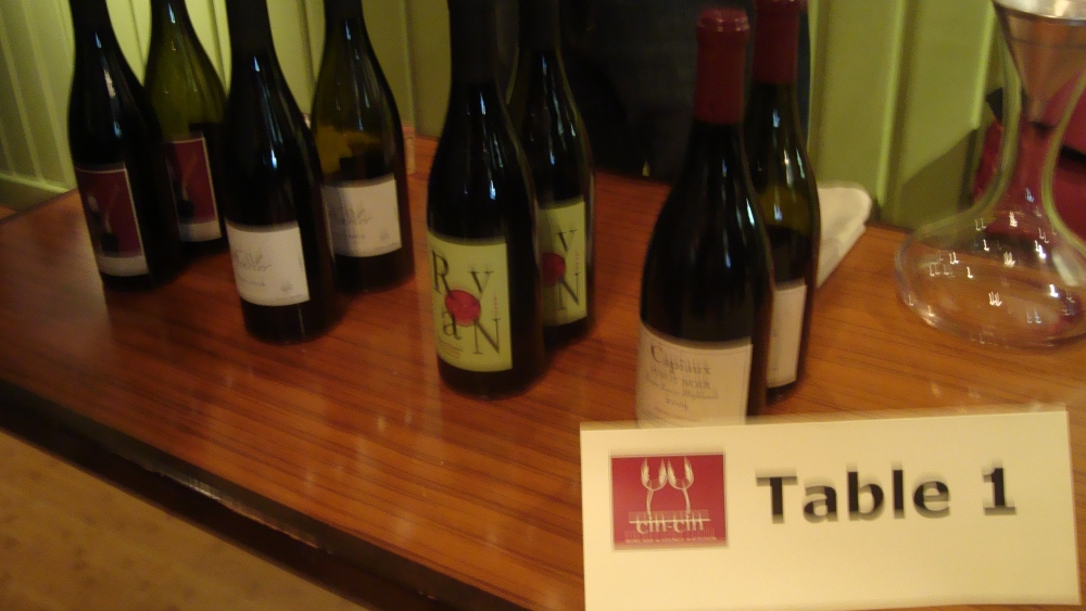 Going Sideways: The Ultimate 2-hour Pinot Noir Tasting (5/6)