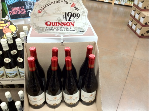 Don't hold your head so high.  You won't see the Chateauneuf-du-Pape. (2/6)