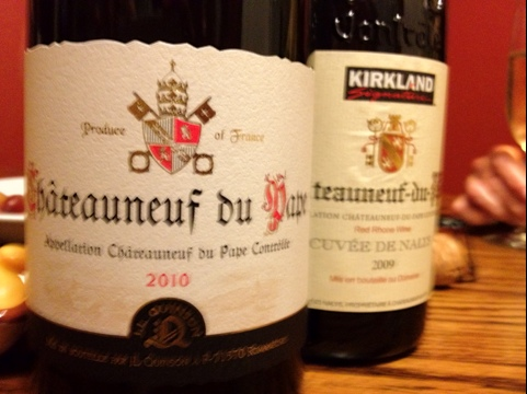 Don't hold your head so high.  You won't see the Chateauneuf-du-Pape. (3/6)