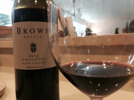 Brown Estate 2012 Napa Valley Zinfandel