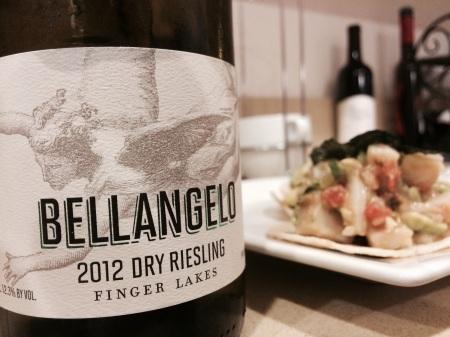 Villa Bellangelo 2012 Dry Riesling