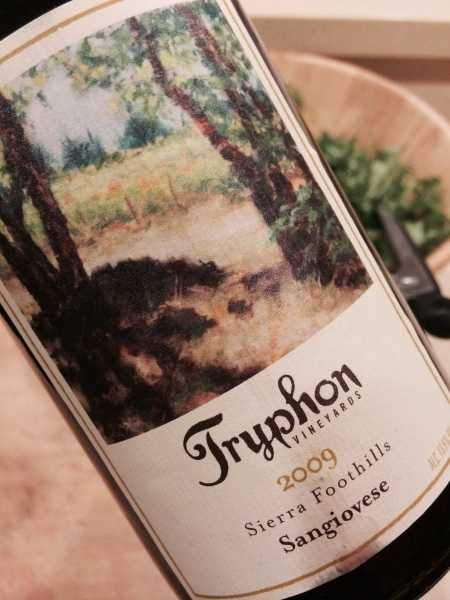Tryphon Vineyards 2009 Sierra Foothills Sangiovese