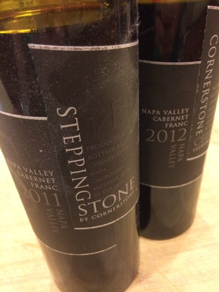 Cornerstone Cellars 2011 and 2012 Black Label Cabernet Franc